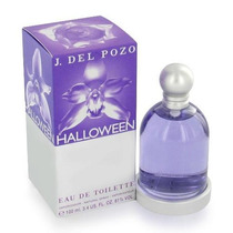 Frasco Vacio Con Caja Y Celofan Halloween J. Del Pozo 100 Ml