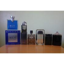 18 Frascos Vacios De Perfumes Importados