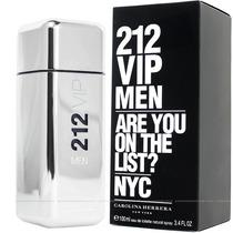 212 Vip Men **original Importado* X100ml // Carolina Herrera