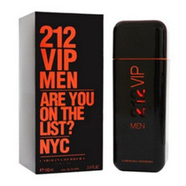 Perfume 212 Vip Men Black 100ml Cerrado Original