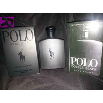 Perfumes Importados Polo Doble Black X125ml.