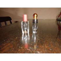 Lote De 2 Frascos Vacios De Extracto Perfume Importados.