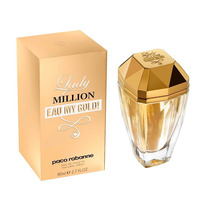 Perfume Lady Million Eau My Gold 80ml Cerrado Original