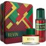 Super Promo Estuche Lata Perfume Kevin 60 Ml + Desodorante