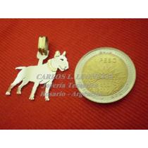 Bull Terrier - Dije Plata 925 - Oro 18k.