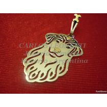 Golden Retriever - Dije En Plata 925 Y Oro 18k