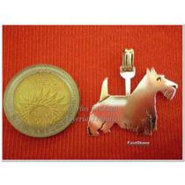 Scottish Terrier- Dije En Plata 925 - Oro 18k