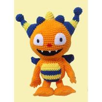 Henry Monstruito Feliz - Zou Cebra Zebra Lambie Crochet !!!!