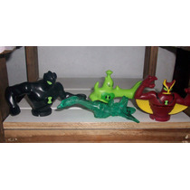 Muñecos De Ben 10 Alien Jetray/force Cartoon Network