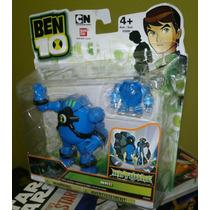Ben 10 Bandai Figura De Nrg Serie Hrywire Con Holograma!