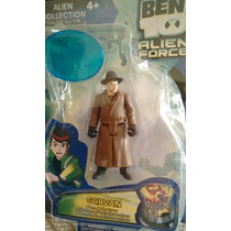 Personaje Muñeco Ben 10 Figura Corvan Alien Force C/base