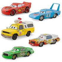Auto Cars Rayo Mcqueen Mate 5 Piezas Original Disney Store
