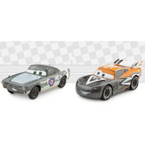 Auto Cars Rayo Mcqueen Y Finn Mcmissile Aviator Disney Store