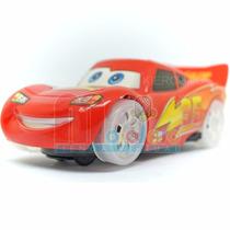 Rayo Mcqueen Cars Auto Luz Y Sonido Anda Solo Super Lindo!!