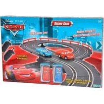 Cars Racing Cars Rayo Mc Queen Pista De Autos + 2 Controles