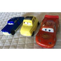 Cars Disney - Lote De 3 Autitos De Mcdonalds - Rayo