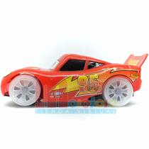 Auto Cars Rayo Mcqueen Luz Y Sonido Anda Solo Muy Lindo!!!