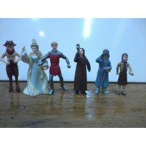Narnia - 6 Muñecos Mc Donalds - Peter Lucy Susan Edmund Etc