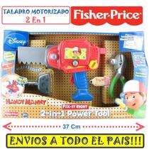 Manny A La Obra - Taladro Motorizado 2 En 1 + Pinza Squeeze
