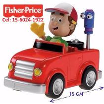 Auto De Manny A La Obra -original Fisher Price- Unico!!!