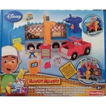 Handy Manny - Repair & Go Garage Fisher-price Tuni W5144