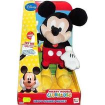 Mickey Mouse Minnie Sonidos Divertidos-peluche Original