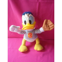 Pato Donald Walt Disney Peluche Y Goma Coleccion Mc Donals