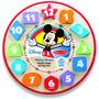 Mickey Mouse Forma Del Reloj En Madera Disney