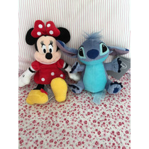 Muñecos Disney Store Minnie Stich