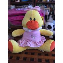 Peluche Pato Con Vestido