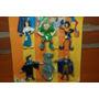 Figuras Disney X 6 Del Jorobado De Notre Dame En Blister !!!