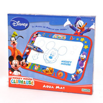 Mickey Club House Aqua Mat 1354