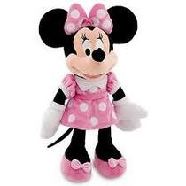 Muñeco Minnie Peluche Mediana 28 Cm Alto Mickey Mouse Sonido