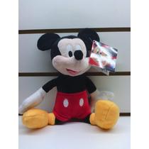 Peluche Mickey 27cm Envio Sin Cargo Caba