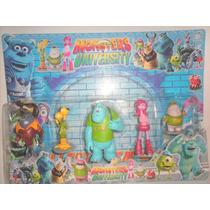 Set De Muñecos De Monsters University X 5 Agranaditos