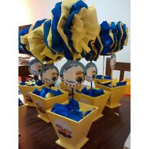 Toparios Fibrofacil Souvenir Minions Centro De Mesa
