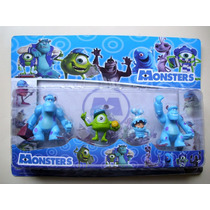 Monster University - Blister X 4 Muñecos - Importado.