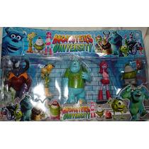Set De Muñecos De Monsters University X 5