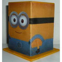 Lapiceros Minions Personalizado Fibrofacil 6x6x9 Souvenirs