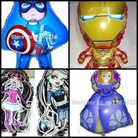 Globo Gigante Minios, Hombre Araña, Capitan America, Sonic