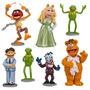 Muppets Disney Play Set 7 Piezas Kermit Piggy Gonzo Fozzie