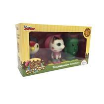 Sheriff Callie Set Con 3 Figuras De Goma Original Disney