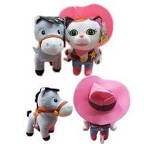 La Sheriff Callie Y Su Caballo Sparky 25 Cm