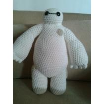 Muñeco Baymax (grandes Héroes) Tejido En Crochet/ Amigurumi