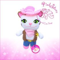 Sheriff Callie Muñeca Crochet Amigurumi