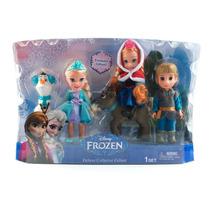 Muñecos Elsa, Anna, Kristoff, Olaf Y Sven Frozen Disney