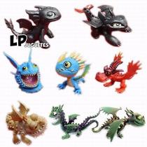 8 Muñecos Cómo Entrenar A Tu Dragón 2 Chimuelo.adorno Tortas