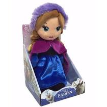 Peluche Princesa Anna Frozen 25 Cm Original Disney