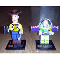 Muñecos Toy Story Para Armar Set X 2 Ladrillitos