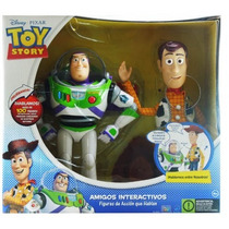 Toy Story Muñecos Woody Y Buzz Interactivos